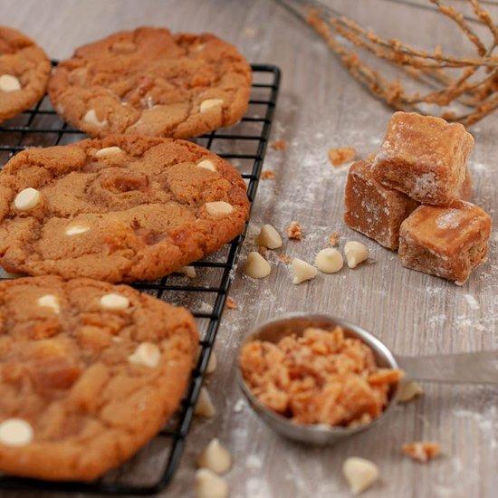 Clotted Cream Fudge Cookies
