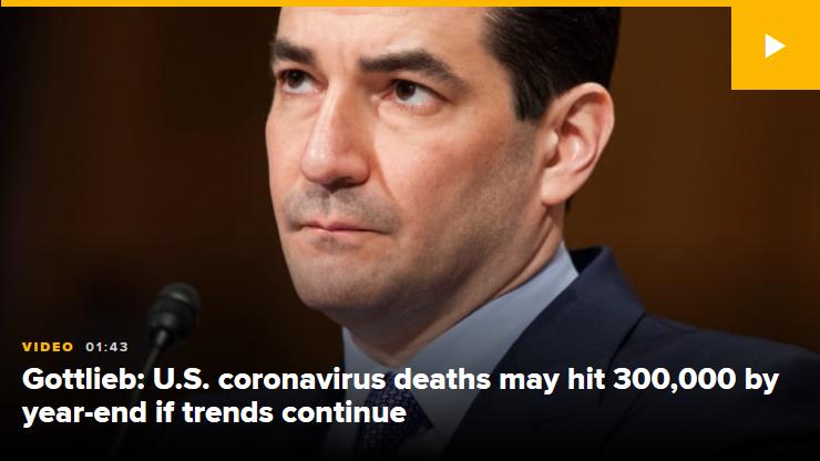 Dr Scott Gottlieb U S coronavirus