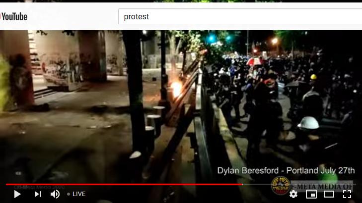 Portland Protest Live Stream Oregon