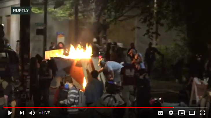 Portland Protest Live Feed Riot