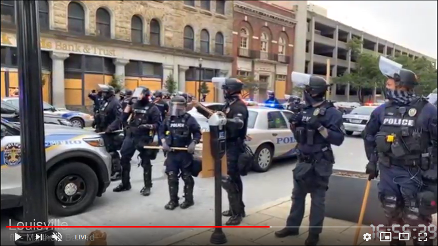 Louisville Kentucky protest and rioting live stream