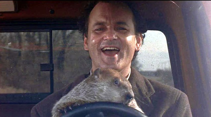 The 99W Drive-In in Newberg reopens this weekend after a winter hiatus, just in time to screen the seasonally and existentially appropriate classic Groundhog Day.