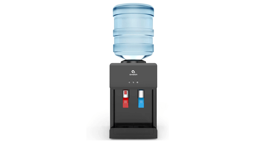 Avalon Premium Hot, Cold Top Loading Countertop Water Cooler Dispenser With Child Safety Lock