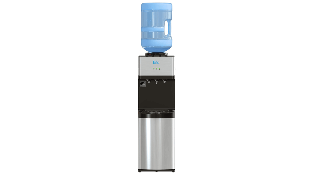 Brio Limited Edition Top Loading Water Cooler Dispenser - Hot & Cold Water