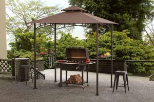Sunjoy grill gazebo for backyard bbq