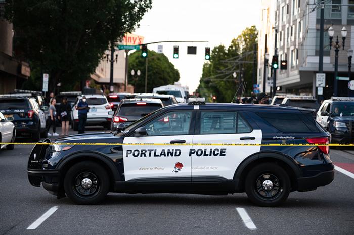 Portland Police shot and killed a man last night in the Lloyd neighborhood.