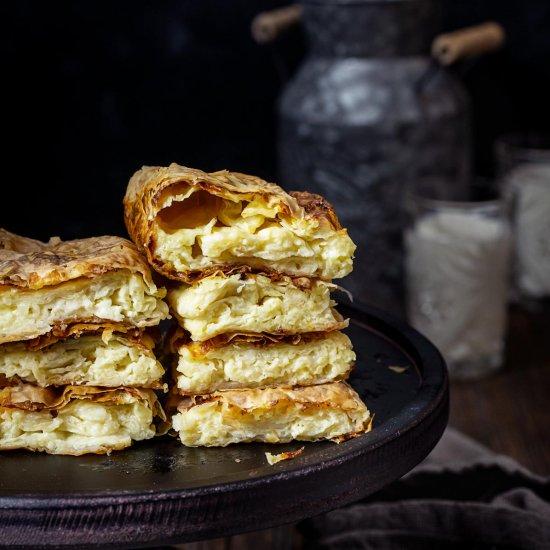 Bosnian Cheese Pie – Pita Sirnica