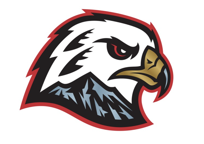 The Winterhawks new logo, introduced on July 14.