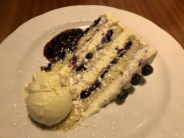 """Idk what a """"cliff cake"""" is, but it was pretty damn good."""