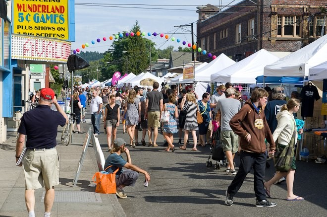 The main drag of Belmont will be transformed into a car-free fun zone during the annual Belmont Street Fair.