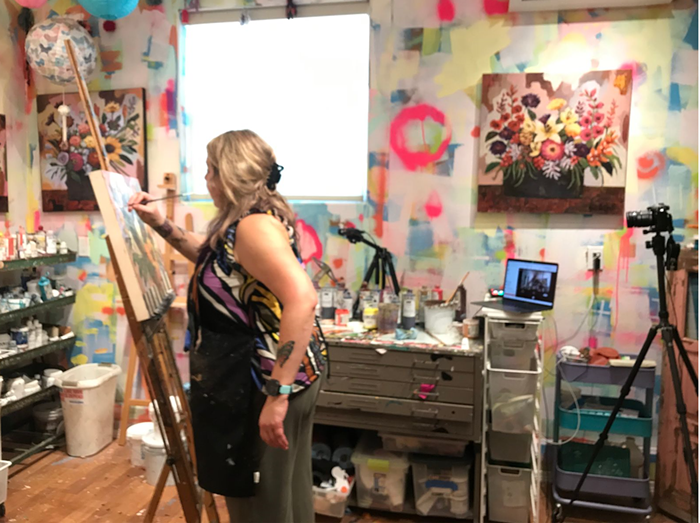 See another side of art at the first weekend of Portland Open Studios 2021 Tour.