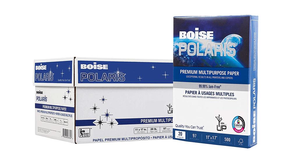 BOISE POLARIS Premium Multipurpose Copy Paper