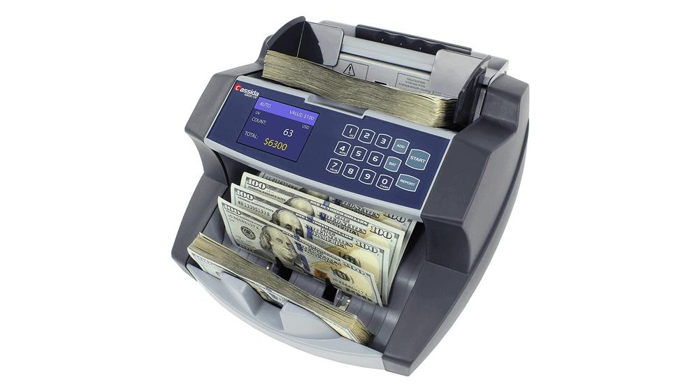 Cassida 6600 UV – USA Business Grade Money Counter