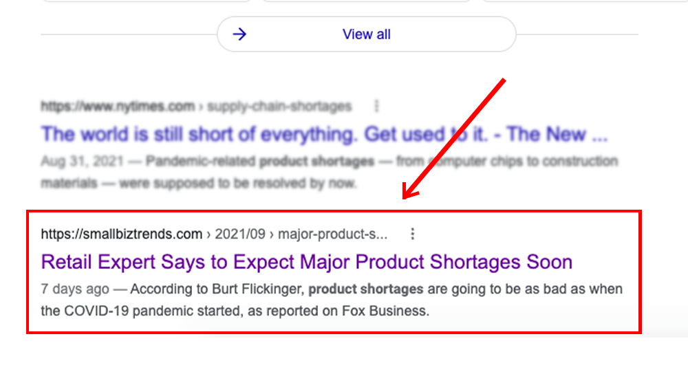 Featured Snippets for More Traffic